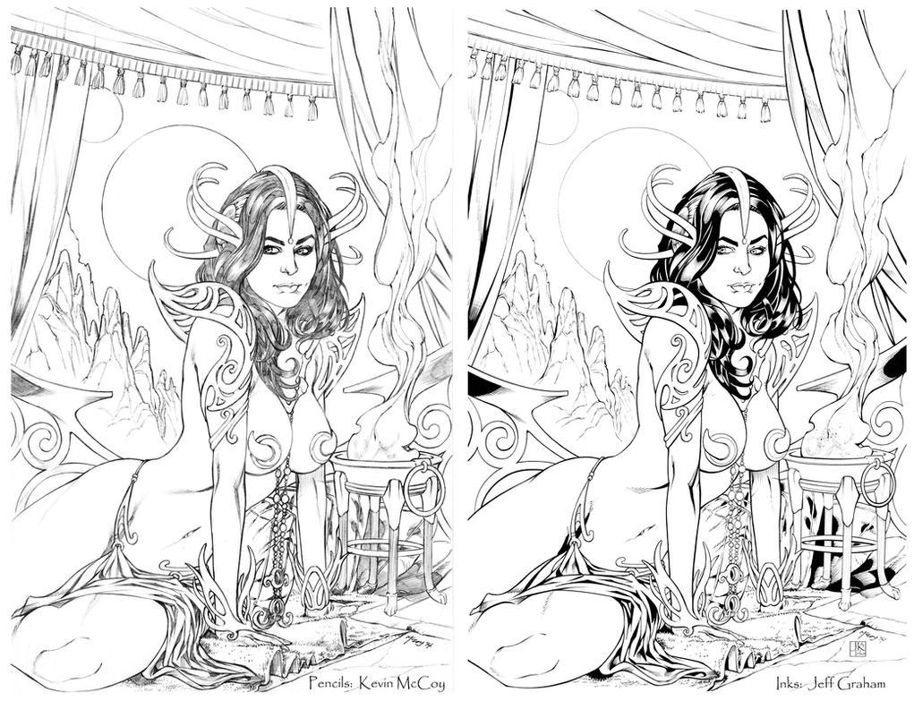 McCoy Dejah Thoris - lorez SBS by JeffGraham-Art
