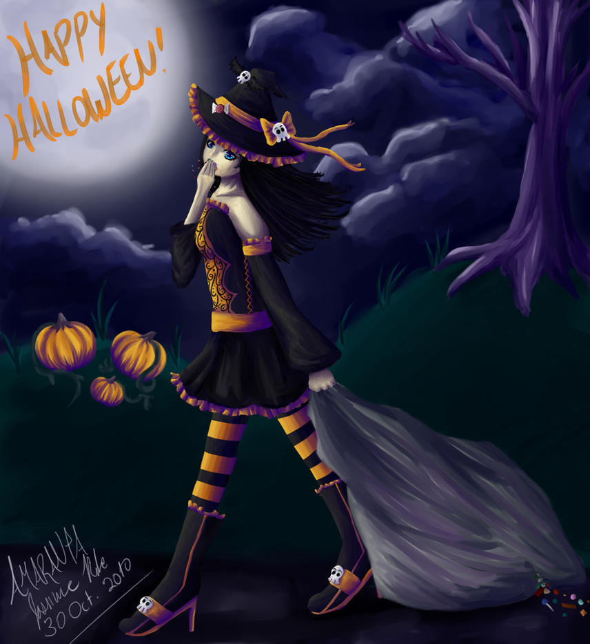 Skye 'Kiseki - Halloween' by amaranta8