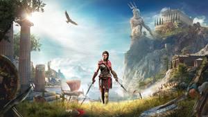 Assassin's Creed: Odyssey Key Art - Kassandra ver.