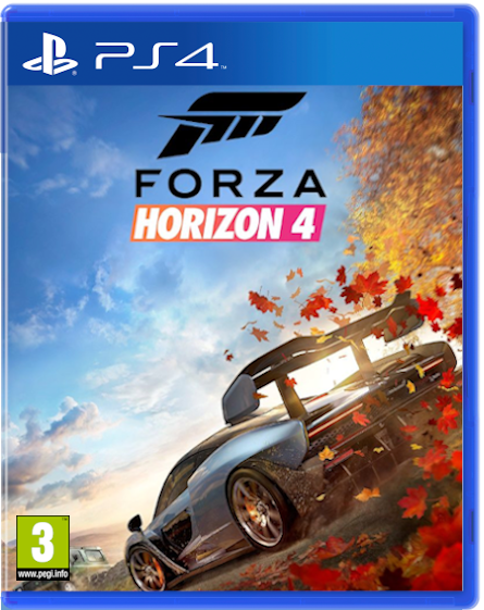 Forza Horizon 4 Ps4 Cover By Youknowwho77 On Deviantart