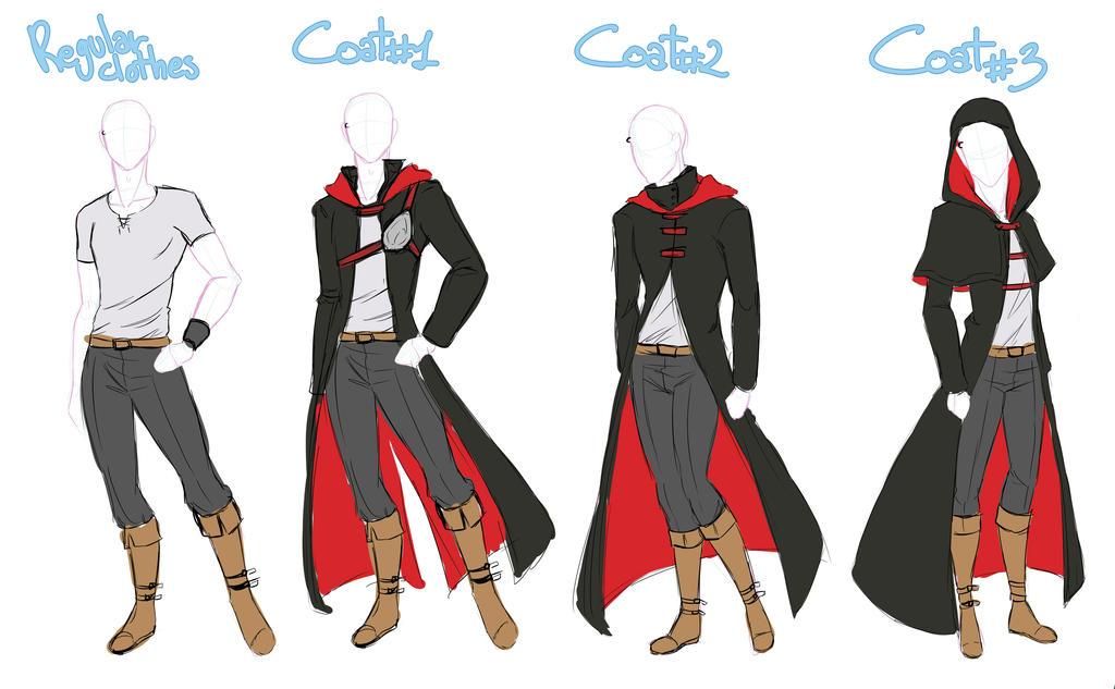 Male Coat By Izumi Sen