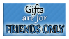 FRIENDS ONLY Gifts by Izumi-sen