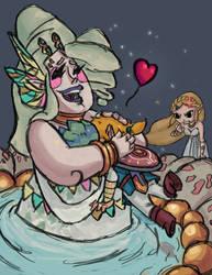 Jealous Zelda