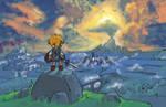 Breath of the Wild Box Art - Wind Waker Edition