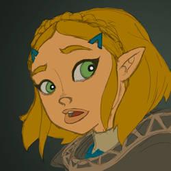 Princess Zelda BotW Sequel