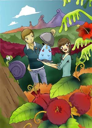 picnic by A-M-U