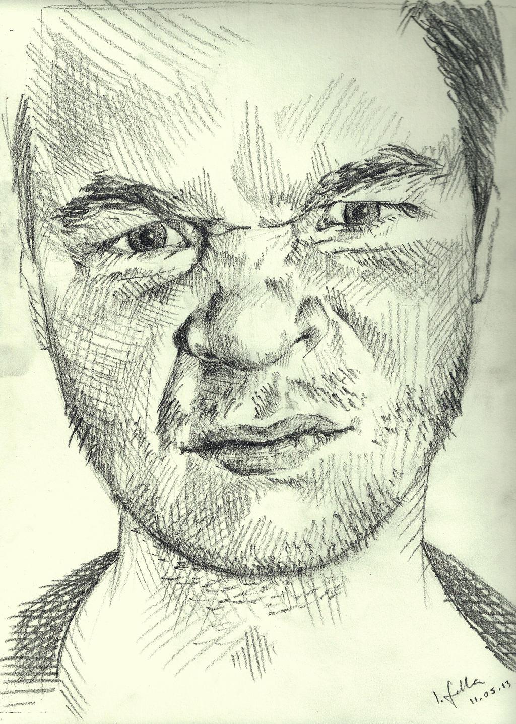 Quick Sketch 14 - Crinkle Face Man By Spots-of-tea On DeviantART