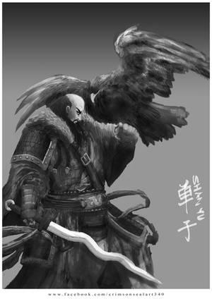 Shan Yu by CrimsonSealArt