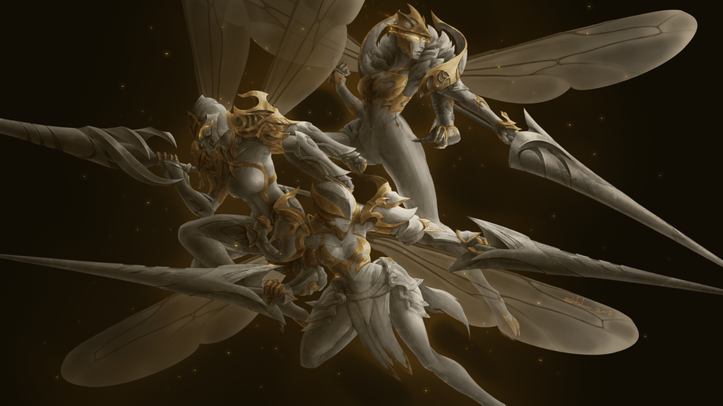 The 3 Hornet Lancers by Crimson-Seal