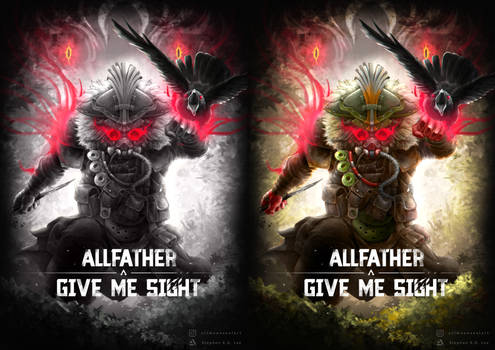 ALLFATHER GIVES ME SIGHT