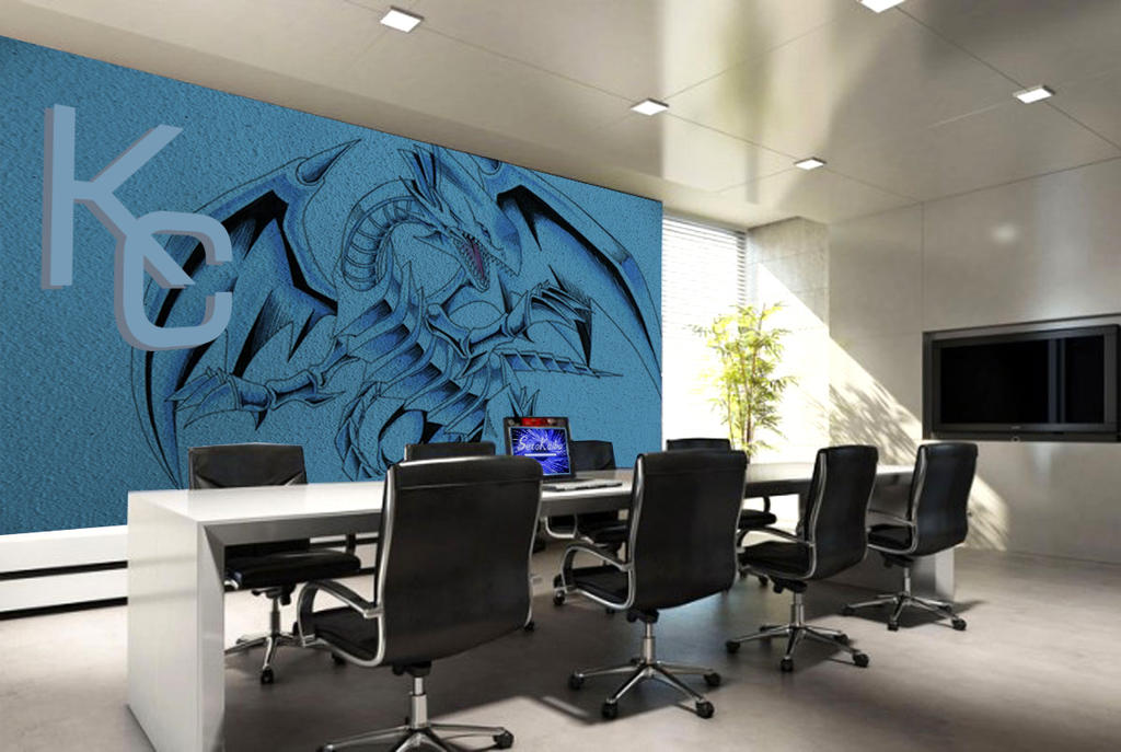 office deco. Kaiba Office Interior Deco By Ermione-wu E