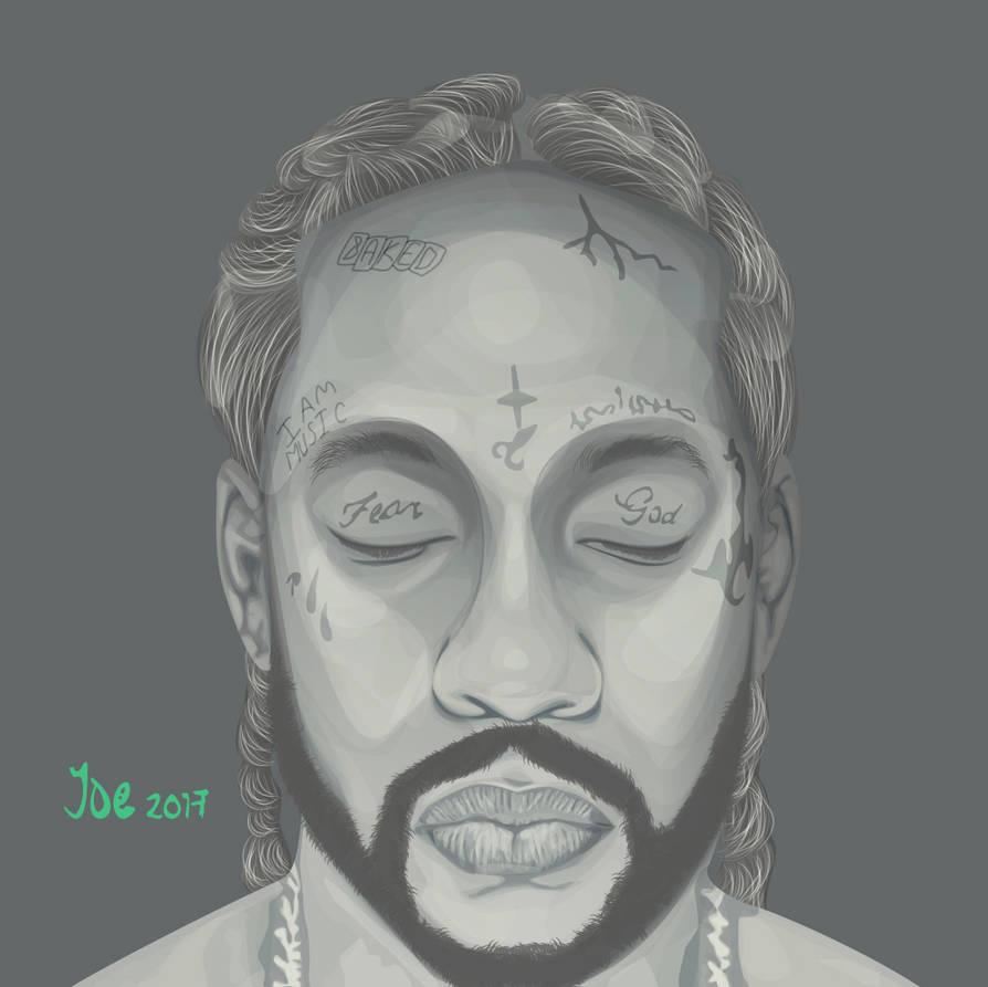 Lil-Wayne-2-Chainz-Collegrove-cover-art by JoeBaraka on