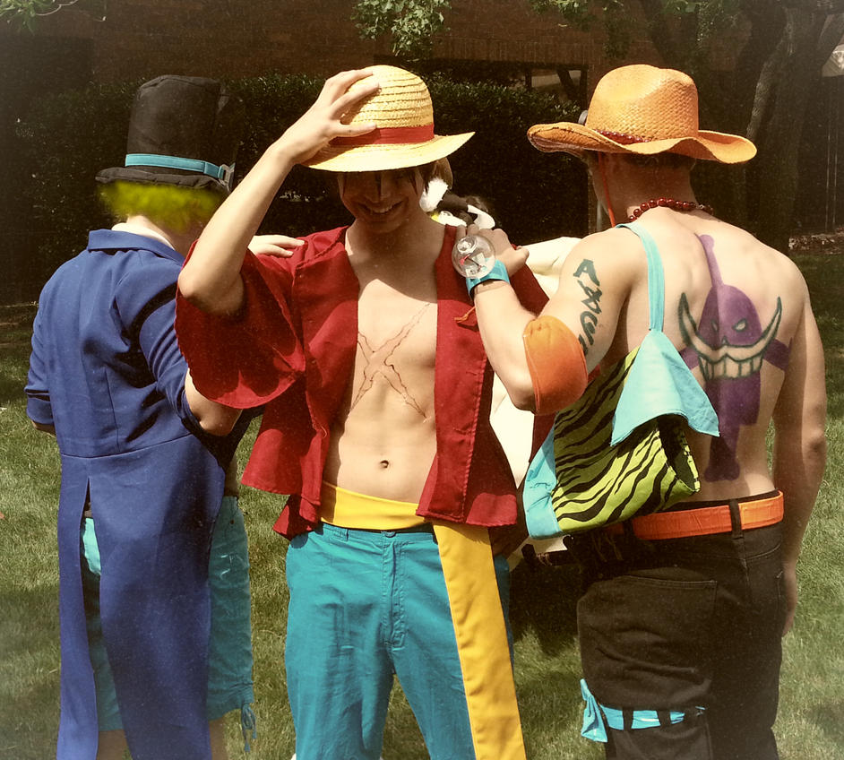 Ace Sabo And Luffy Cosplay