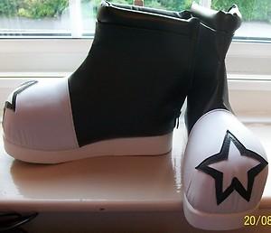 BlackStar shoes by MewMewToYou