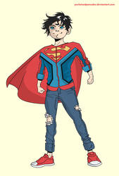Superboy by purloinedpancake