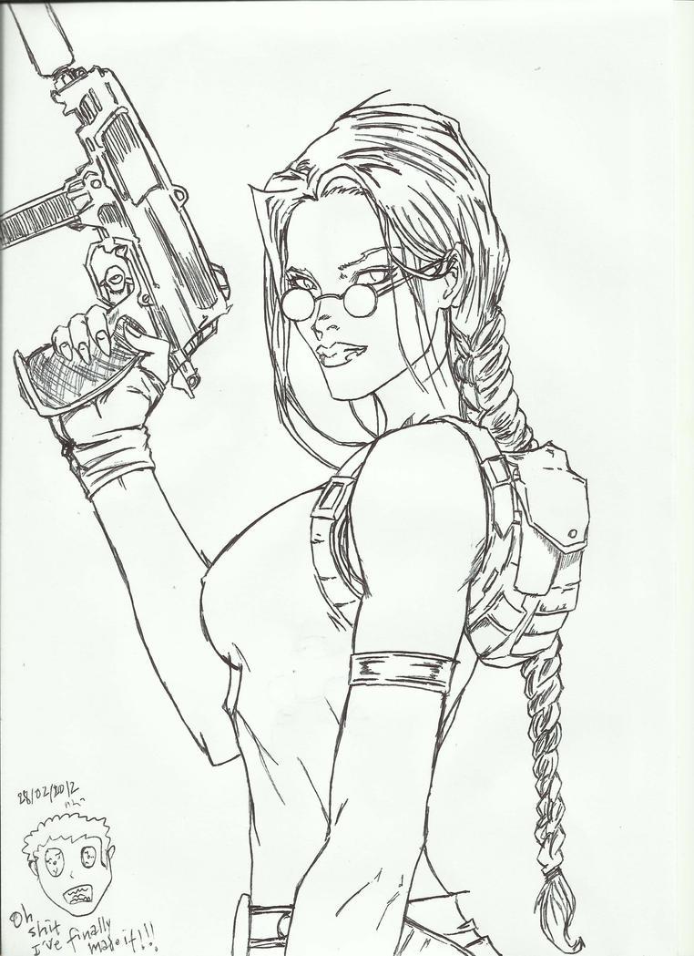 Another Lara Croft by gosaimasuzawa