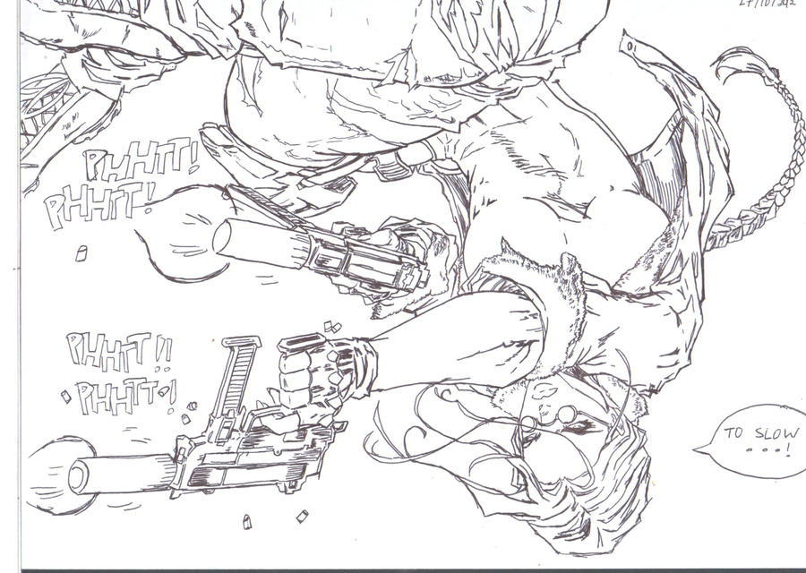 Croft too strong!!! by gosaimasuzawa