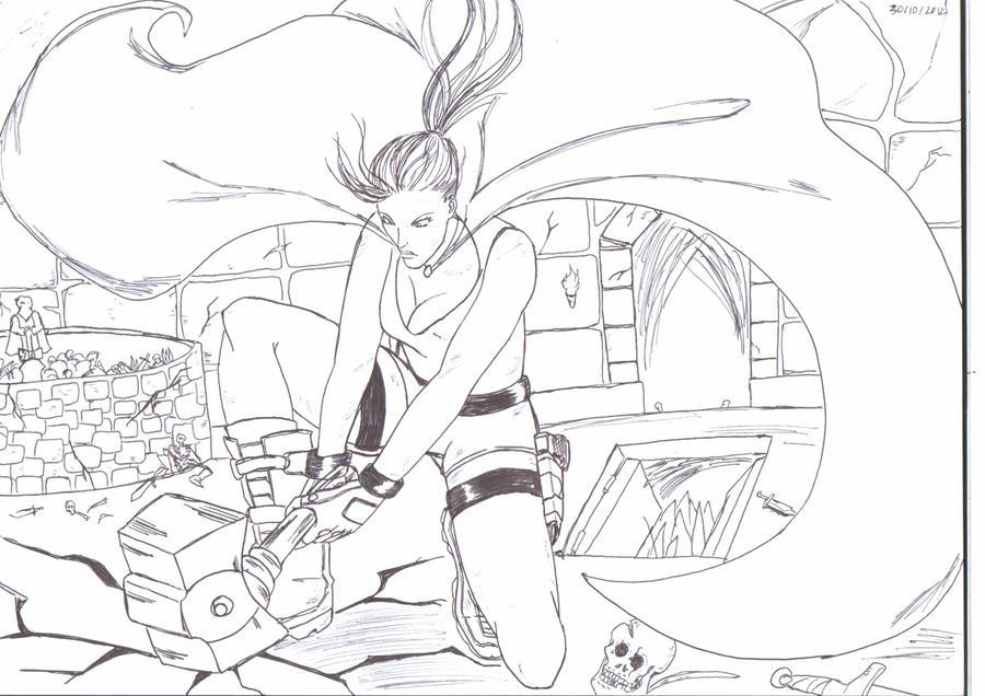 Sketche 8 by gosaimasuzawa