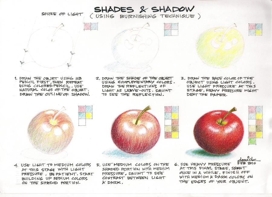 Color Pencil Sketch Tutorial
