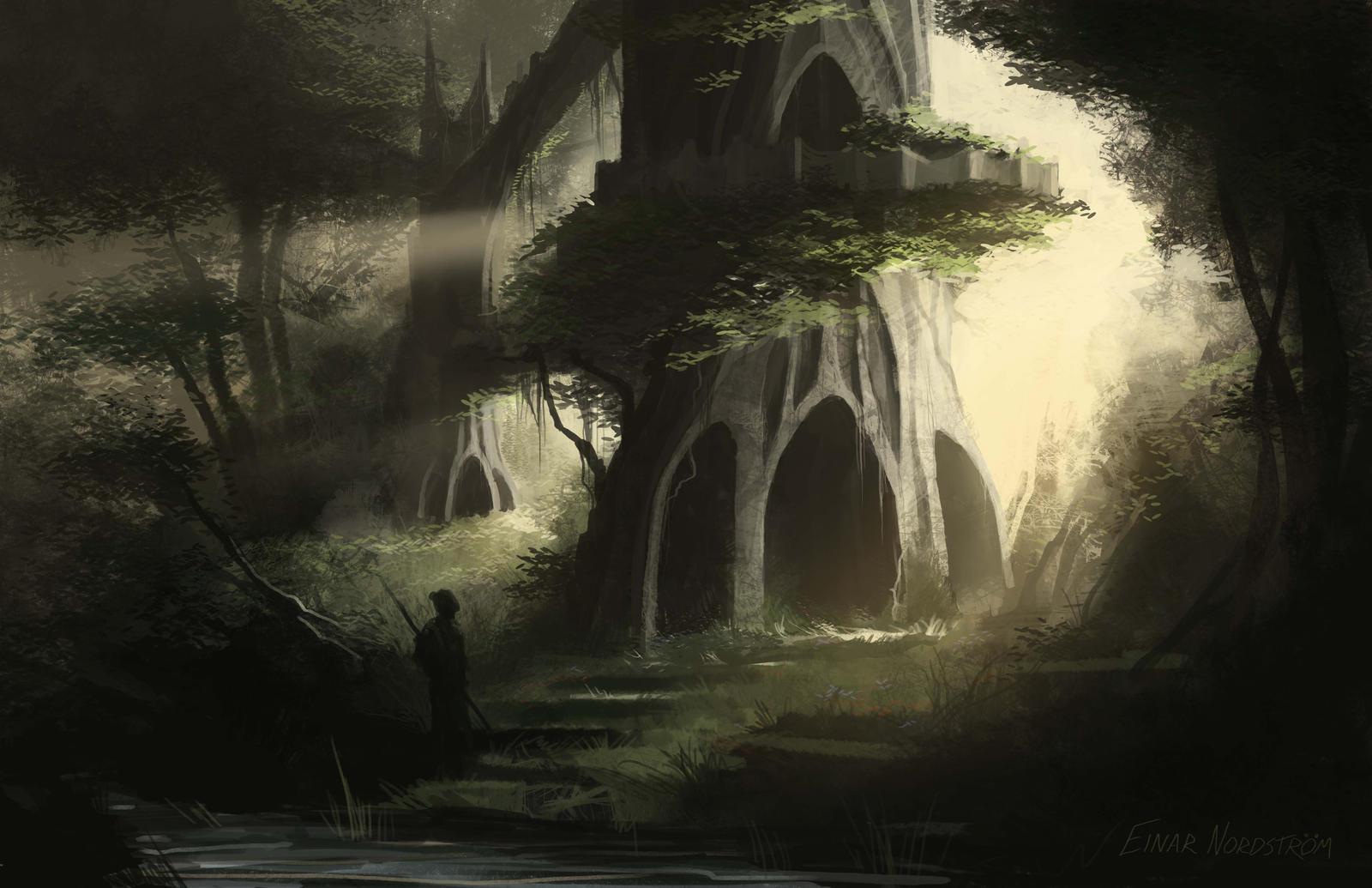 86 best Swamp/Jungle Fantasy images on Pinterest   Environment ...