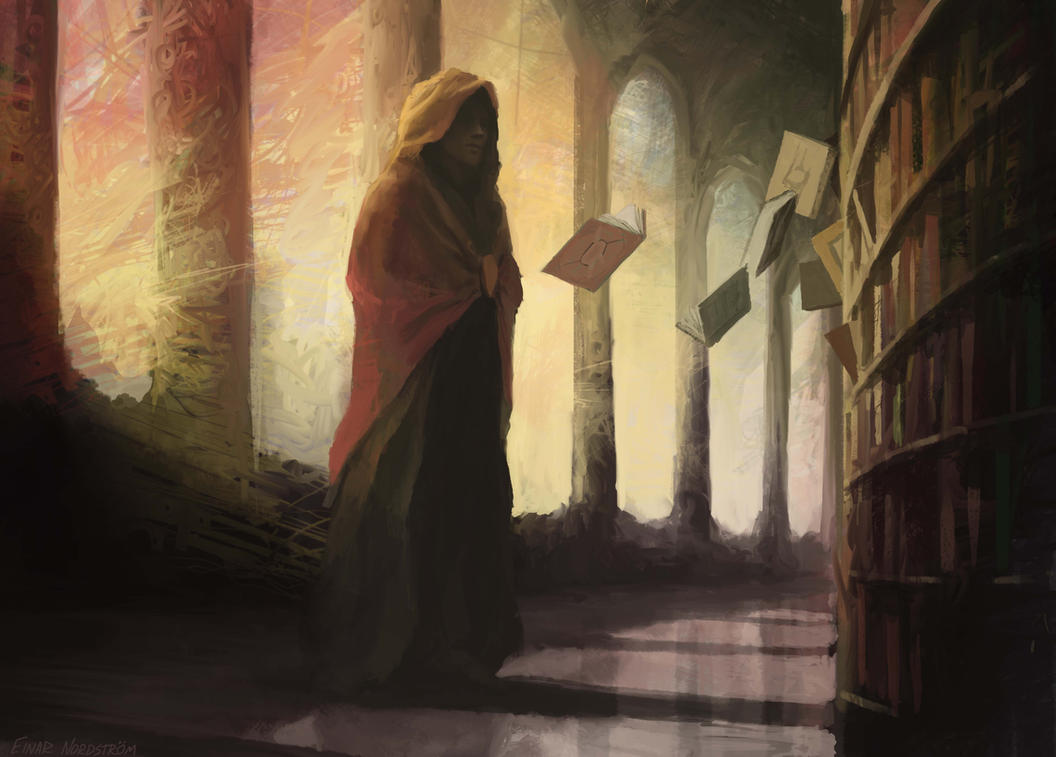 Kinetic Librarian by EinarNordstrom