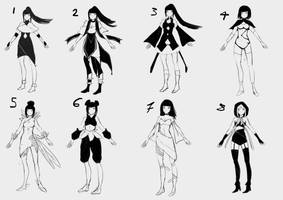 Early Concept Designs for competition by Fox-Candy