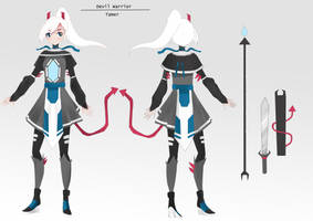 QUICKCharacter Sheet Devil Tamer BDO Contest Entry by Fox-Candy