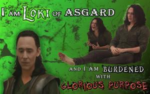 Loki of Asgard by liasid
