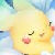Cute Pikachu Sleping Avatar by Pixel-777