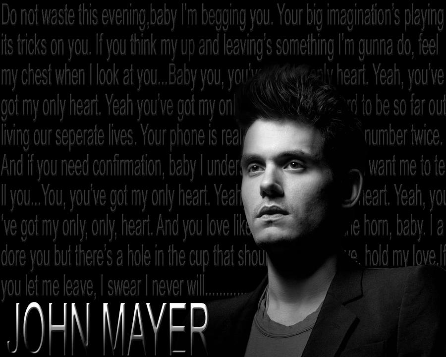 John Mayer Wallpaper: JOHN MAYER Wallpaper By Kathrynamaranthine On DeviantArt