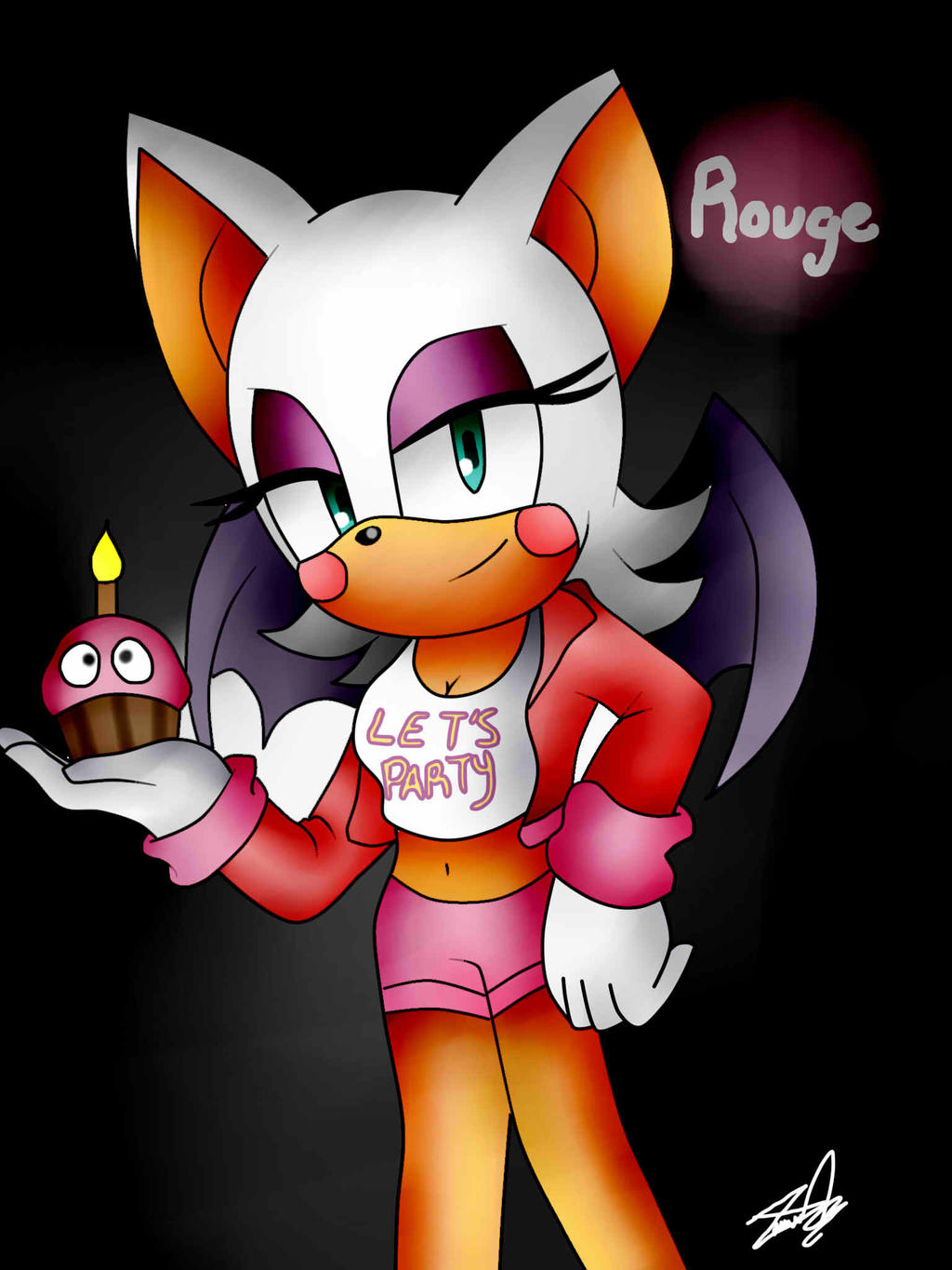 Rouge the bat toy chica by idalyaoisonic1344 on deviantart