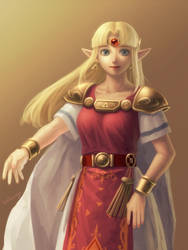 ALBW Princess Zelda by bellhenge