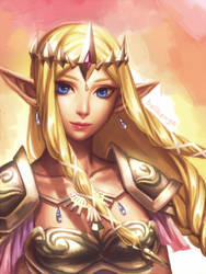 Princess Knight by bellhenge