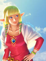 Lovely Zelda by bellhenge