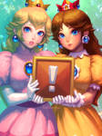 Peach and Daisy, old ver.