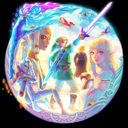 SKYWARD SWORD by bellhenge