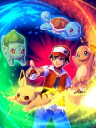 Pokemon 20th by bellhenge