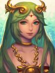 Goddess of Light by bellhenge