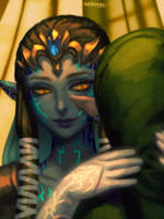 Puppet Zelda by bellhenge