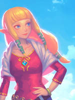 Re: Lovely Zelda by bellhenge