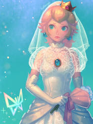 Wedding Peach(2) by bellhenge