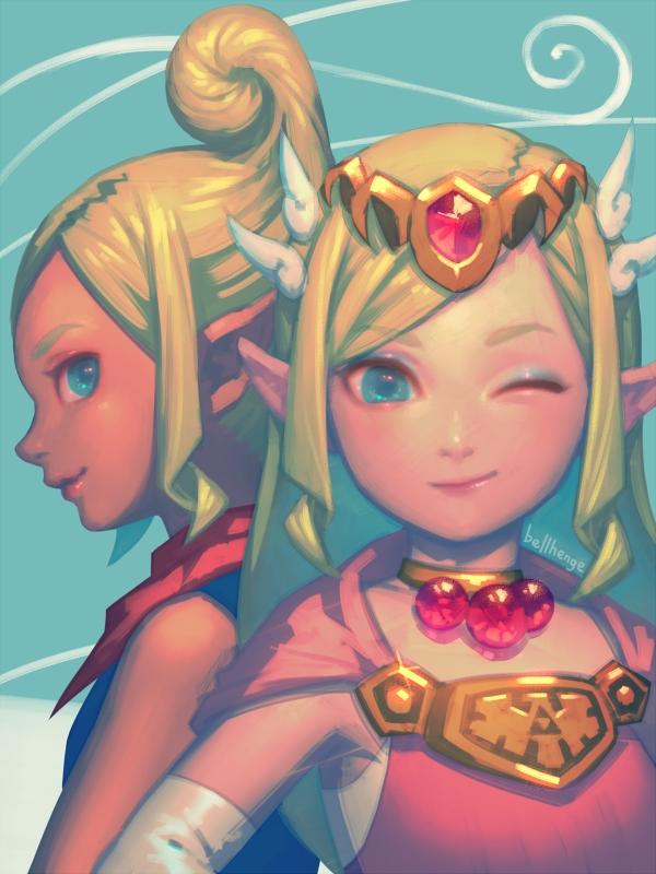 Tetra and Zelda