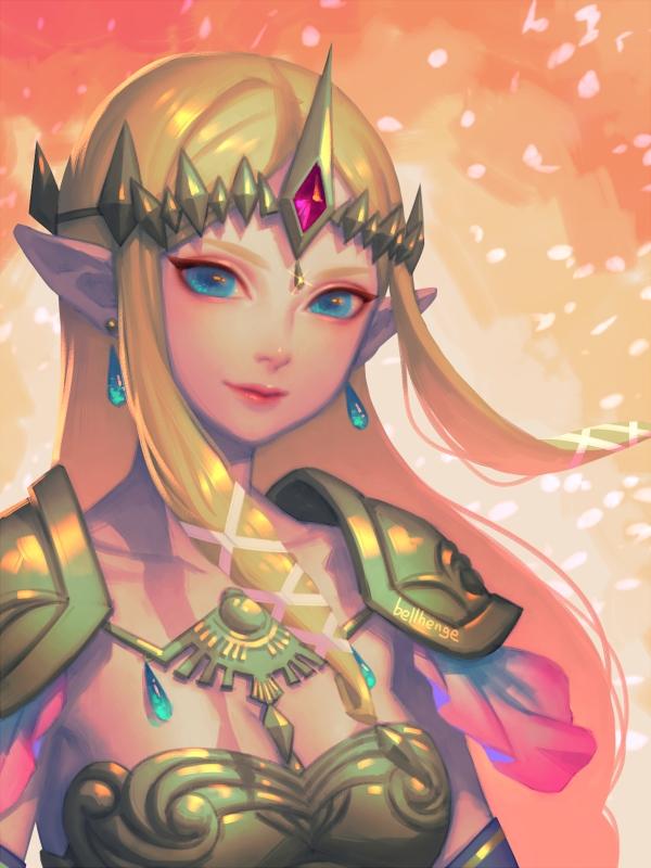Re: HW Princess Zelda by bellhenge