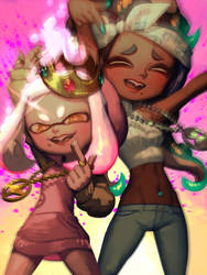 Off the Hook Octo by bellhenge