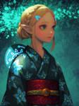 Yukata Zelda