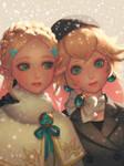 Winter Princesses by bellhenge