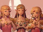 SSB Zeldas