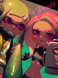 Agent8 and Agent3(2) by bellhenge
