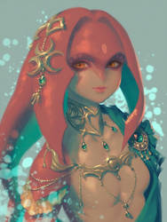 Mipha(2) by bellhenge