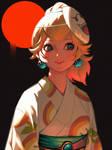 Yukata Peach(2)